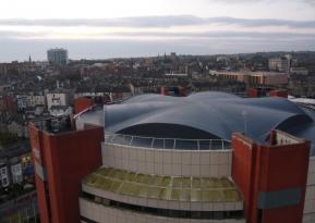 Harrogate International Centre: viewed from above