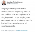 Musings on Music and Sport