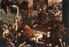 Tintoretto's depiction of the Slaughter of the Innocents
