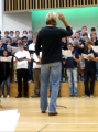 Eric Whitacre with the National Youth Choir of Great Britain